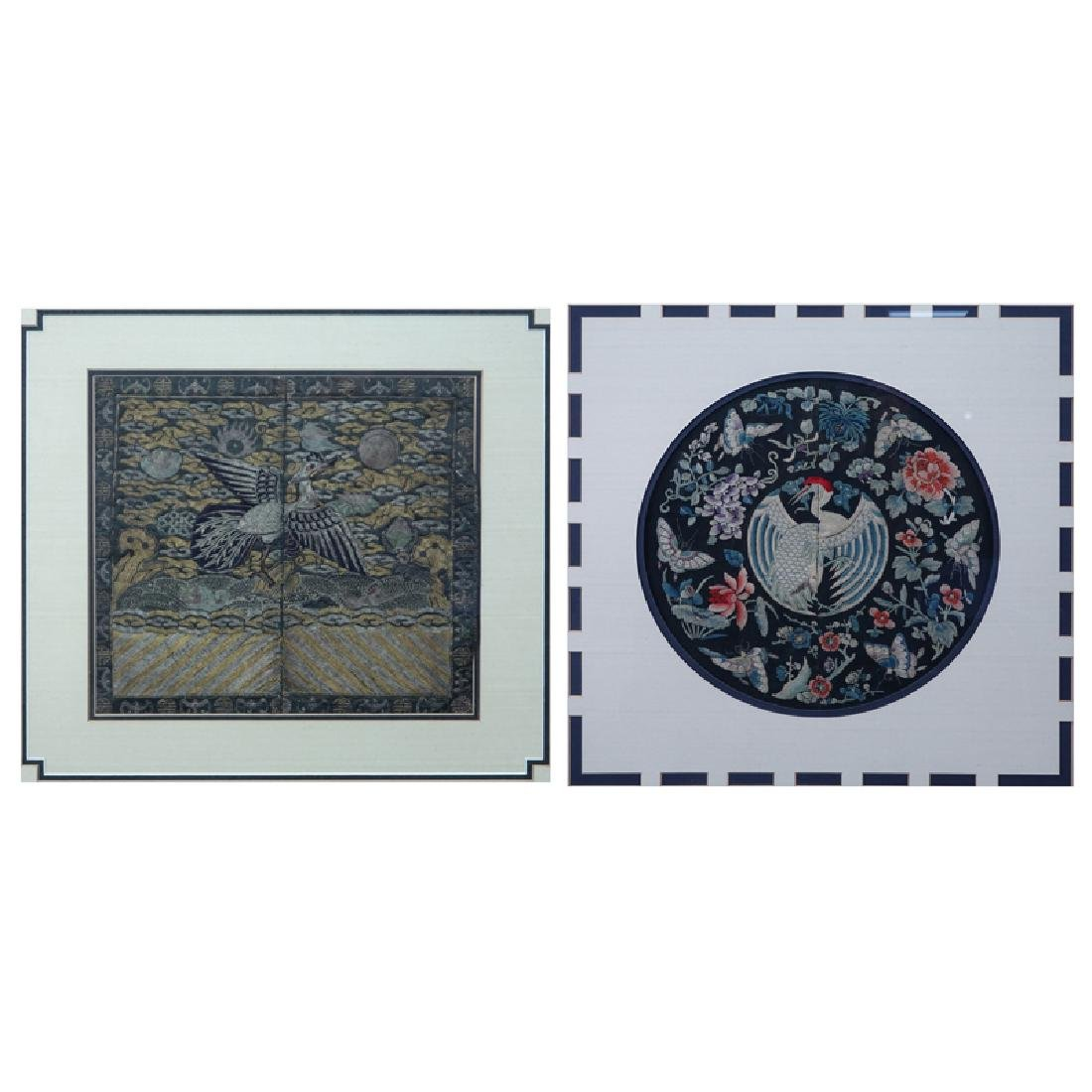 Two (2) Chinese Ming Style  Framed Traditional - 3
