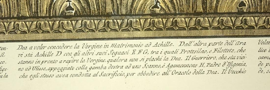 Ornamental Frieze Engraving After Francesco Piranesi, - 4