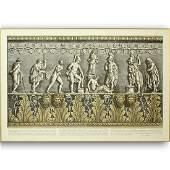 Ornamental Frieze Engraving After Francesco Piranesi