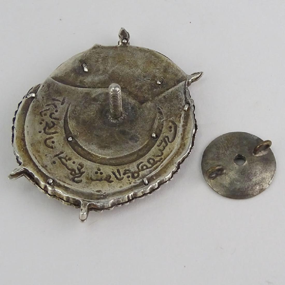 Russian / Muslim 84 Silver and Enamel Badge / Medal - 3