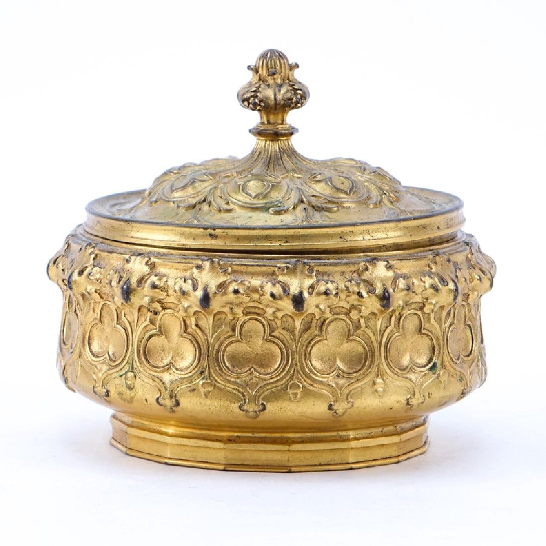 F. Barbedienne (19th Century) French Louis XVI Gilt