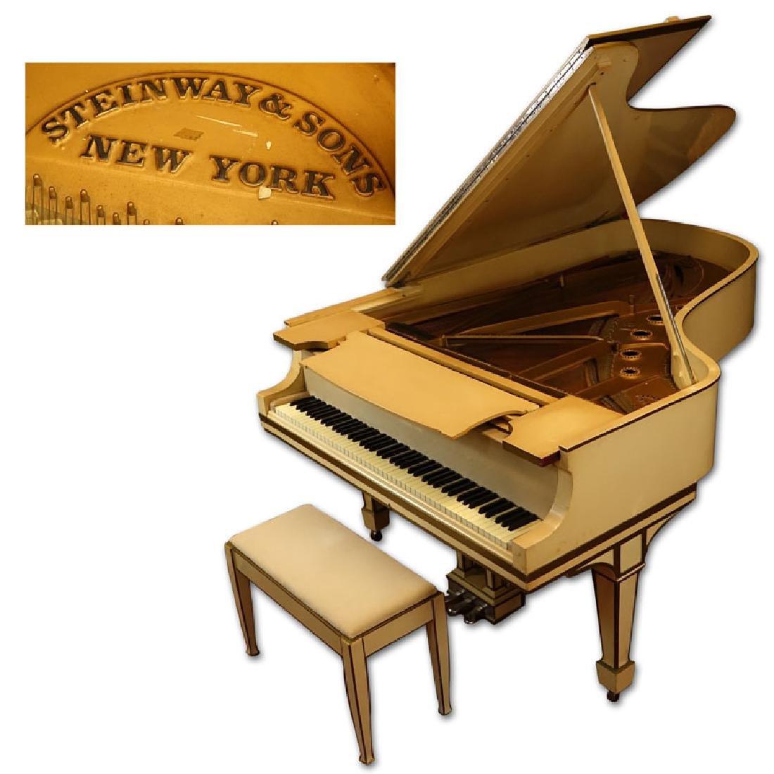 1911 Steinway & Sons Grand Piano Model B #145933 with