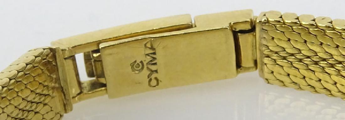 Lady's Vintage 18 Karat Yellow Gold Movado Bracelet - 4