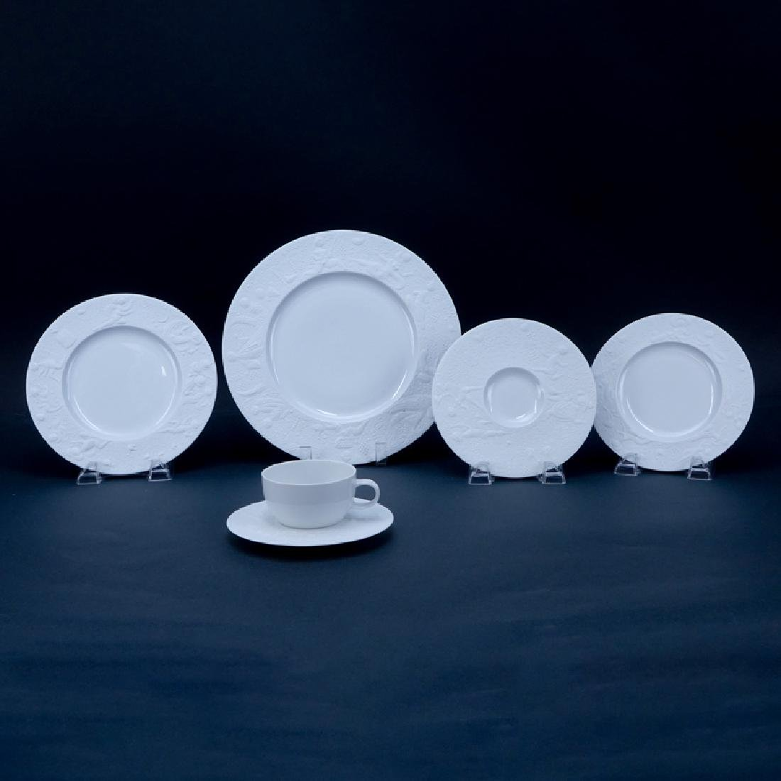 """Sixty (60) Pieces Rosenthal """"Magic Flute - White"""""""