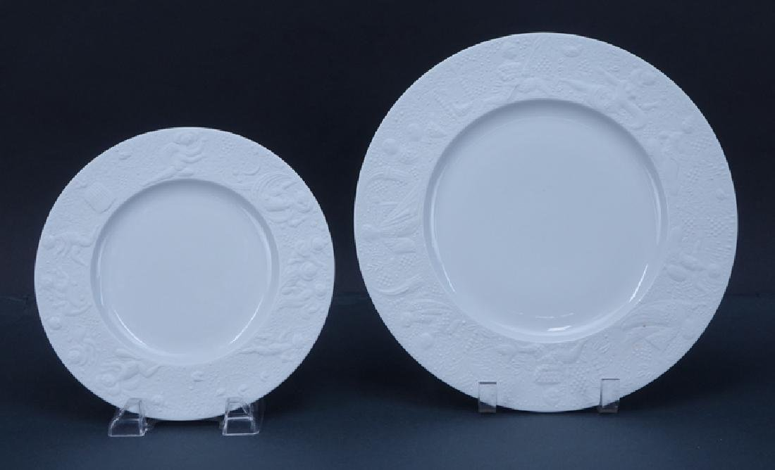 """Sixty (60) Pieces Rosenthal """"Magic Flute - White"""" - 2"""