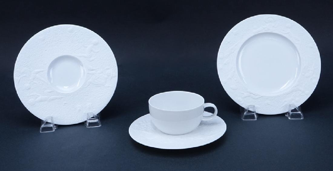 """Sixty (60) Pieces Rosenthal """"Magic Flute - White"""" - 3"""