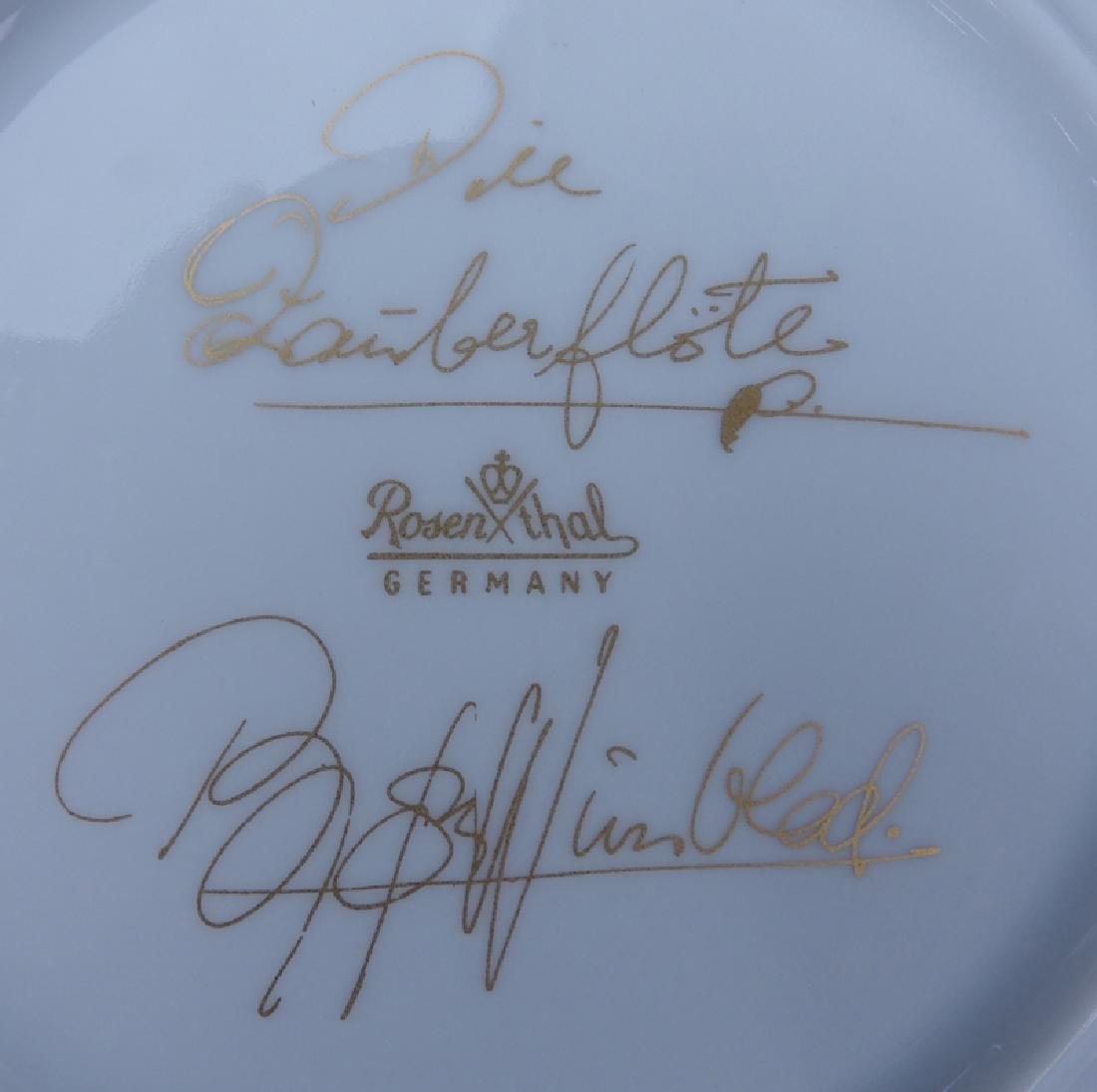 """Sixty (60) Pieces Rosenthal """"Magic Flute - White"""" - 5"""