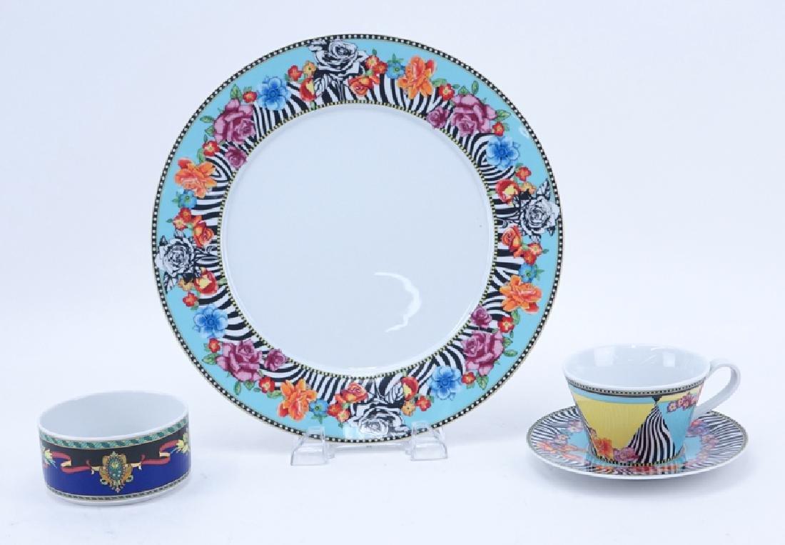 Nineteen (19) Pc Rosenthal Versace Porcelain - 2