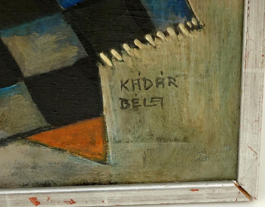 Attributed to: Bela Kadar, Hungarian  (1877-1956) Oil - 3