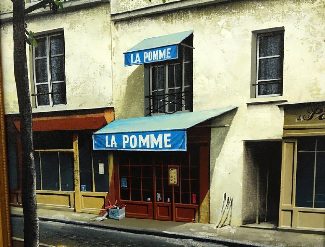 """Thomas Pradzynski, Polish/French (1951-2007) """"La Pomme, - 4"""
