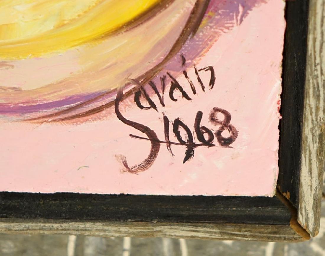 Petion Savin, Haitian (born 1927) Acrylic on board - 5