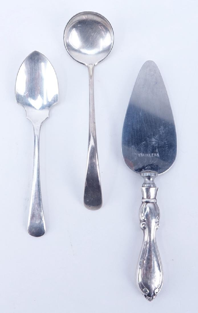 Collection of Nine (9) Sterling Silver, sterling Handle - 2