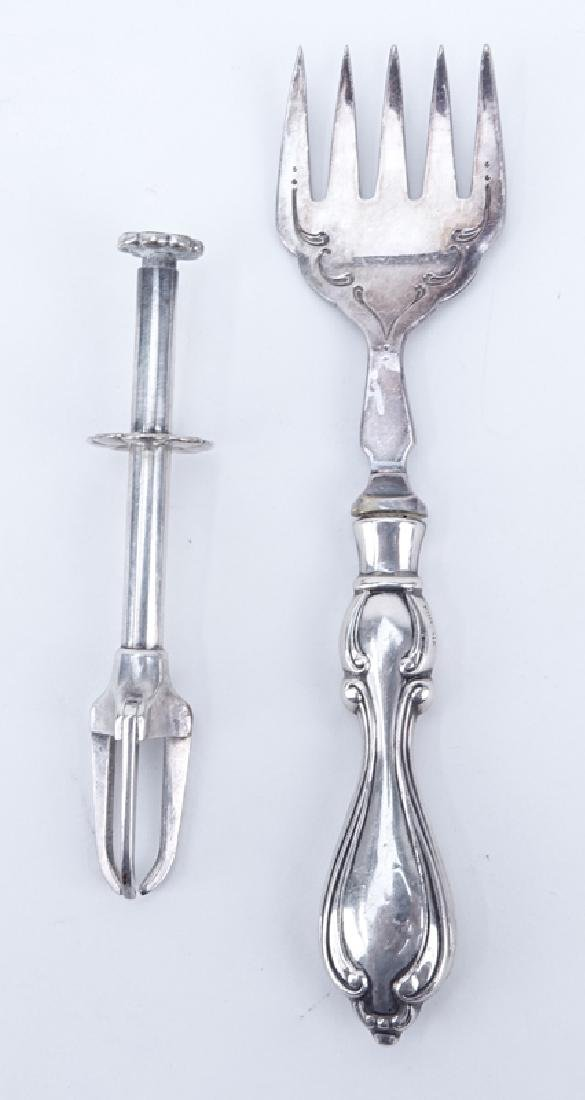 Collection of Nine (9) Sterling Silver, sterling Handle - 3