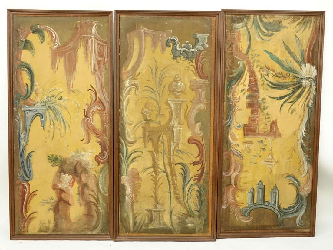 Six (6) Early to Mid 20th Century Rococo Chinoiserie - 7