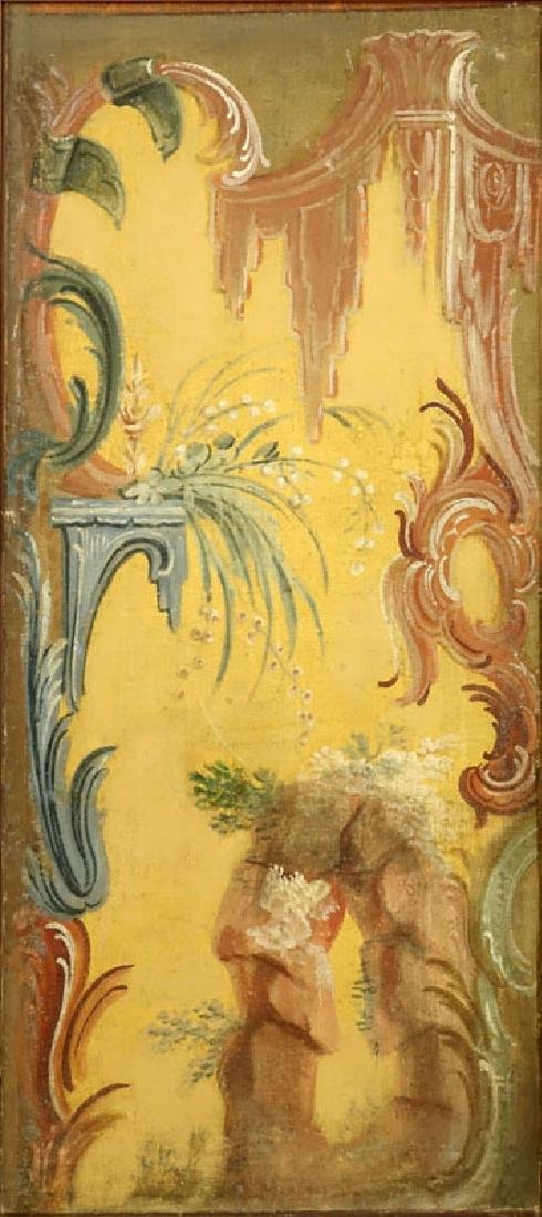 Six (6) Early to Mid 20th Century Rococo Chinoiserie - 8