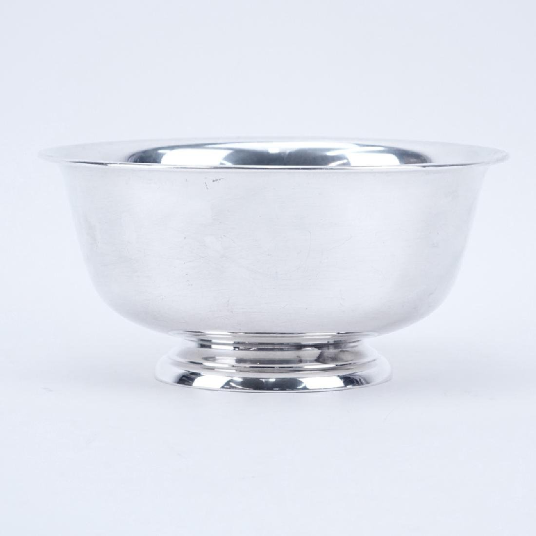 National Silver Co. Sterling Silver Footed Bowl.