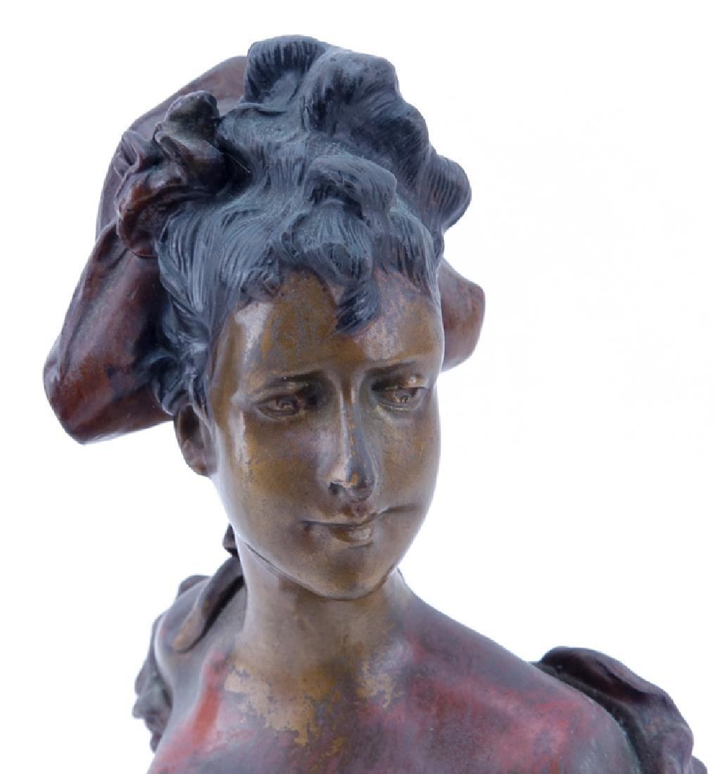 After: Alfred Jean Foretay, Swiss (1861-1944) bronze - 3