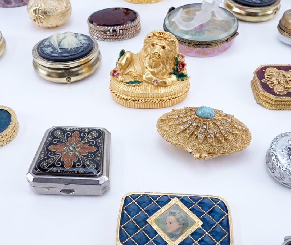 Collection of 38 Miniature Boxes. Various makers and - 3