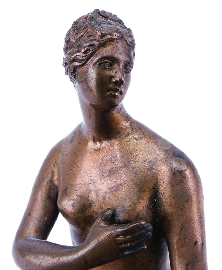 19/20th Century Venus de Medici Bronze Sculpture. - 3