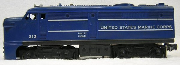 1: Lionel #212 United States Marine Corp. AlCO Powered
