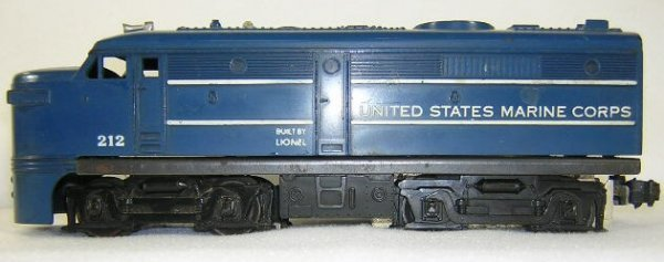 2: Lionel #212 United States Marine Corp. ALCO Powered