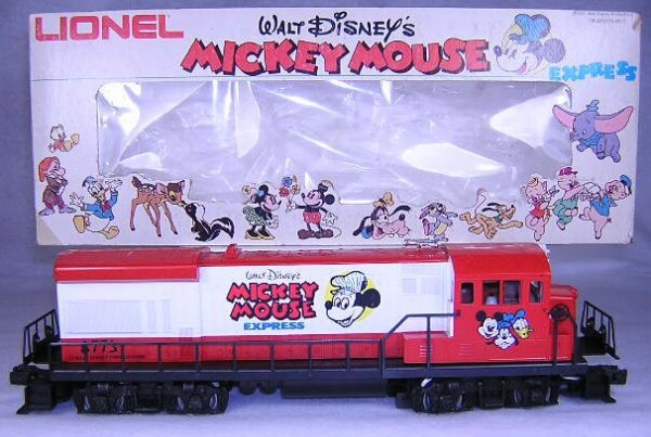 19: Lionel #8773 Mickey Mouse U36B General Electric Eng