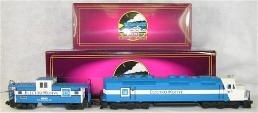 404: MTH #MT-2146LP EMD FP-45 Diesel Demonstrator #6 Al