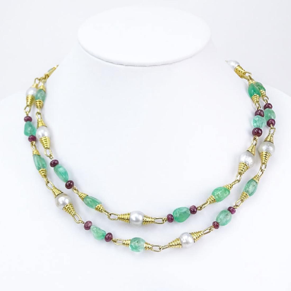 Vintage David Webb Approx. 145.0 Carat Emerald, 35.0