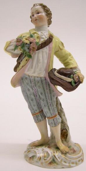 """2018: 19th Century Meissen Porcelain Figural Group """"Sui"""