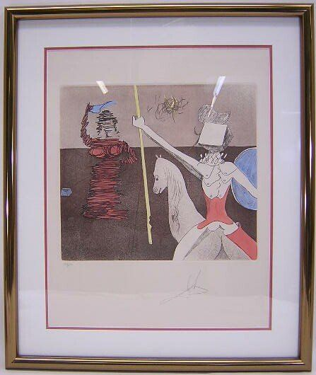 2312: Salvador Dali Spanish (1904-1989) Limited Edition