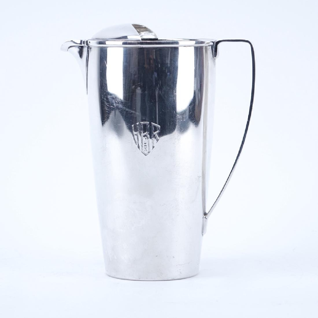 Tiffany and CoSterling Silver Pitcher. Stamped Tiffany
