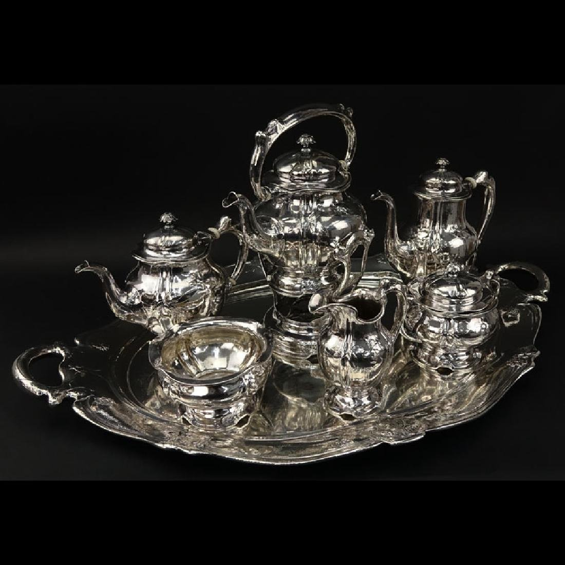 Important Gorham Martele .9584 Silver Tea and Coffee