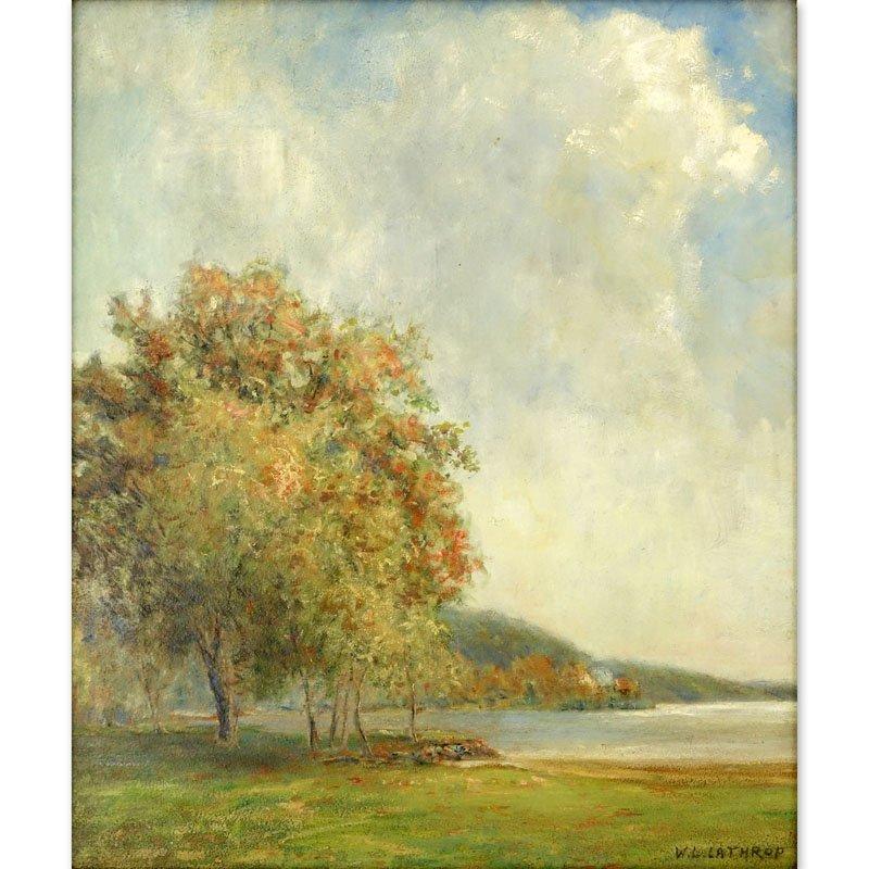 William Langson Lathrop, American (1859-1938) Oil on Bo