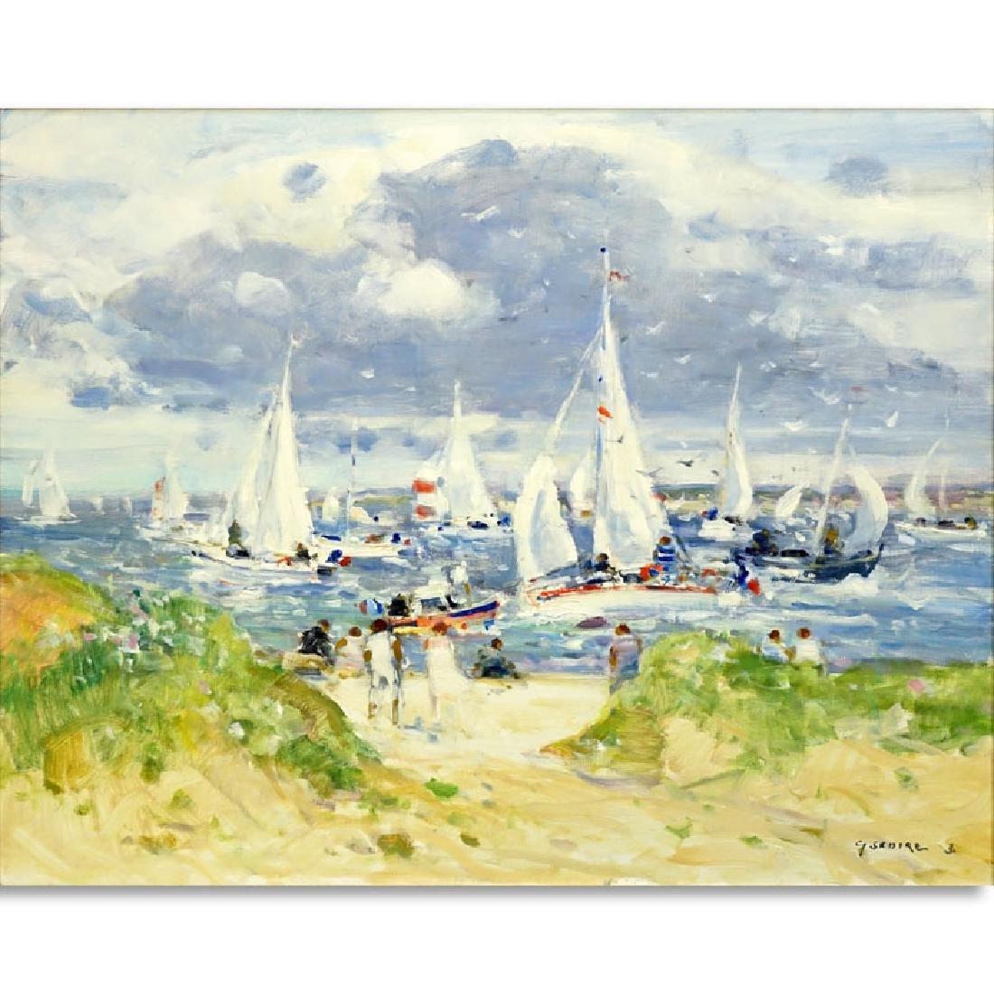 Gaston Sebire, French (1920-2001) Oil on Canvas