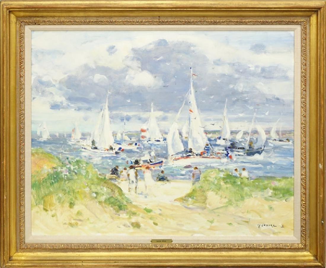 Gaston Sebire, French (1920-2001) Oil on Canvas - 2