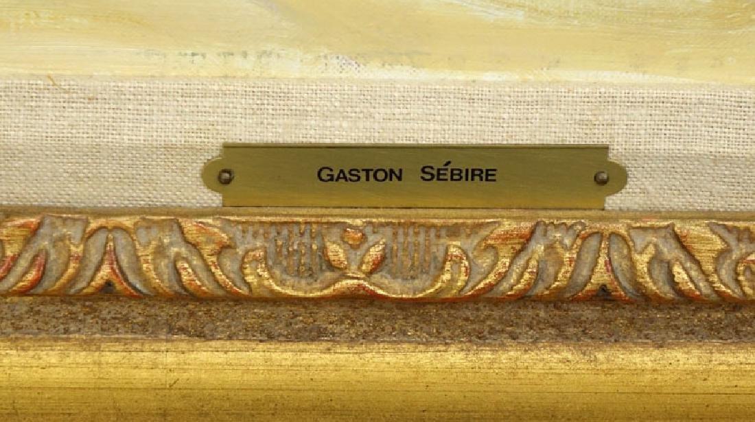 Gaston Sebire, French (1920-2001) Oil on Canvas - 4