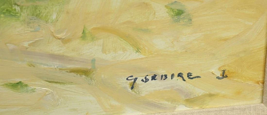 Gaston Sebire, French (1920-2001) Oil on Canvas - 5