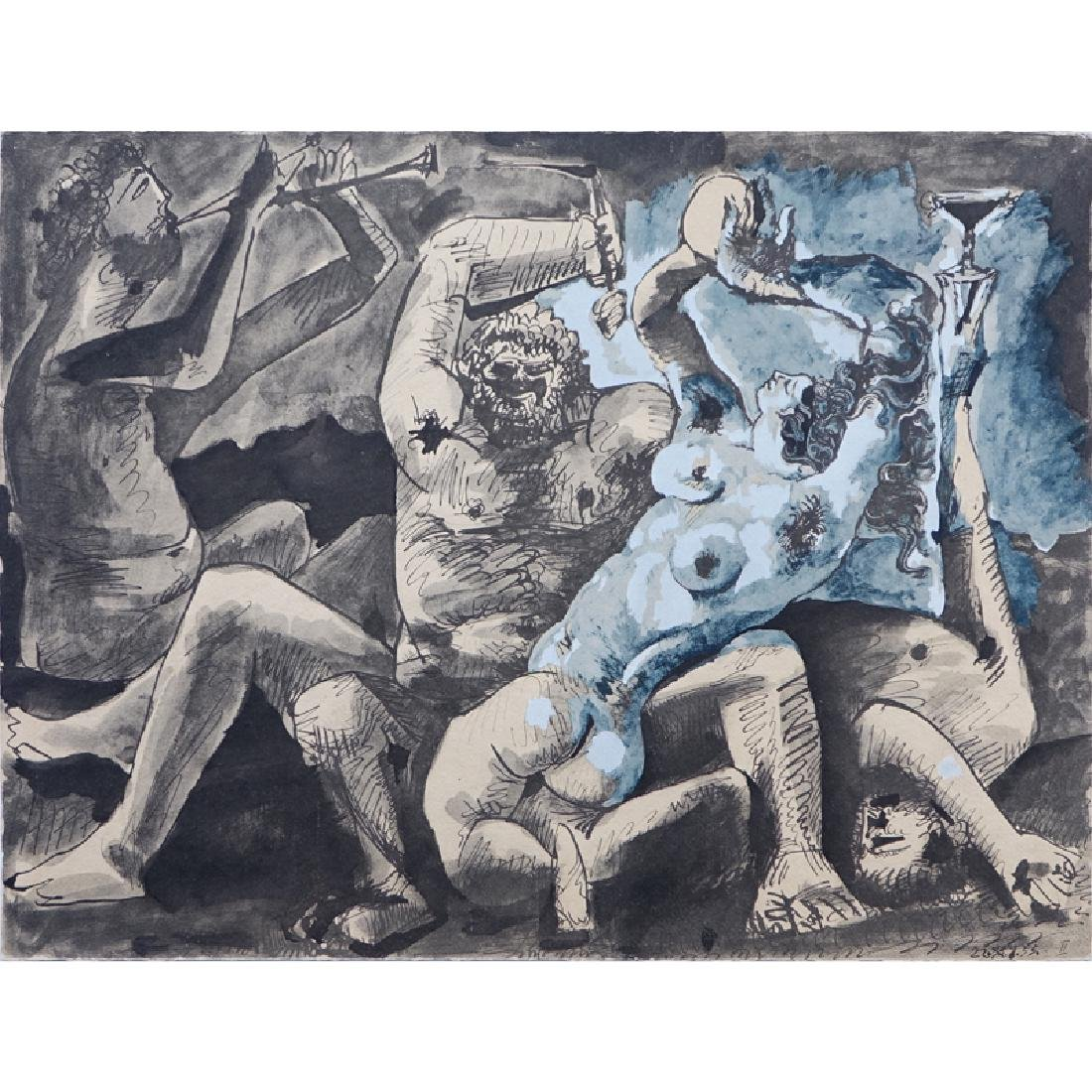 After Pablo Picasso, Spanish (1881-1973) Lithograph,