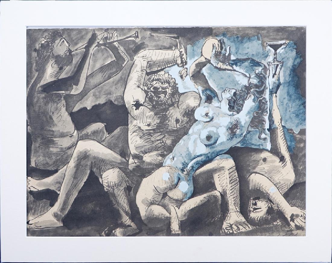 After Pablo Picasso, Spanish (1881-1973) Lithograph, - 2