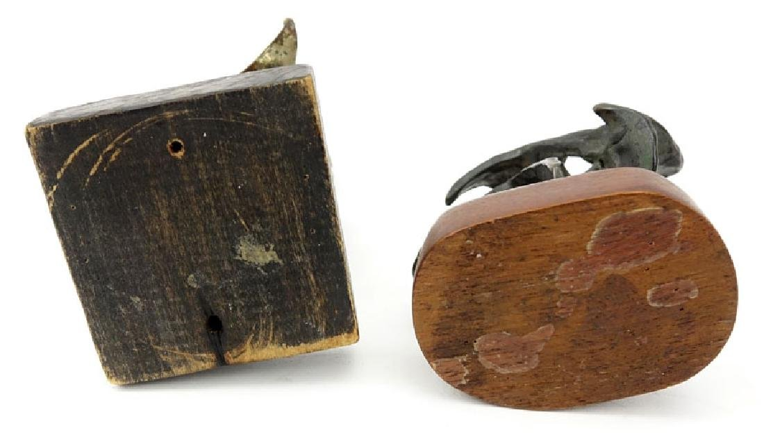 Grouping of Two (2) Mid Century Abstract Bronze and - 4
