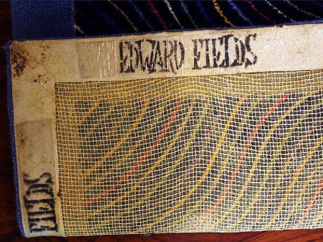 Room Size Edward Fields Colorful Stripes Wool Rug. - 3
