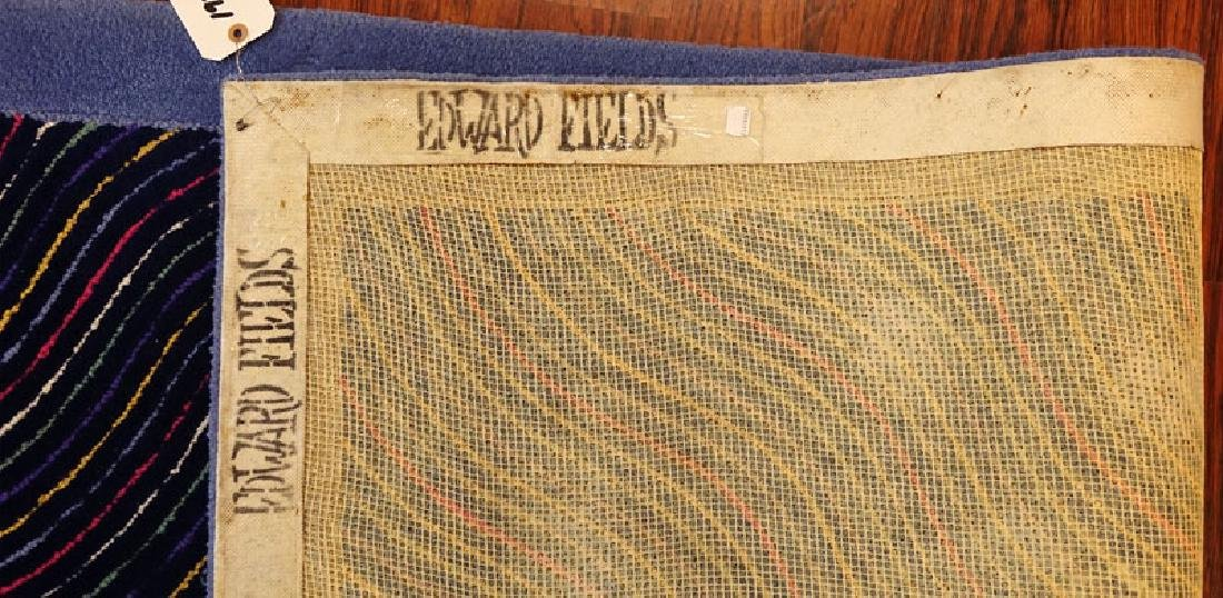 Room Size Edward Fields Colorful Stripes Wool Rug. - 7
