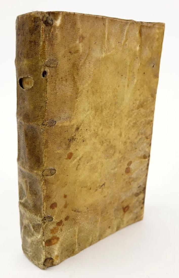 "16th Century Book - ""Concile de Trente"" - Guillaume - 2"