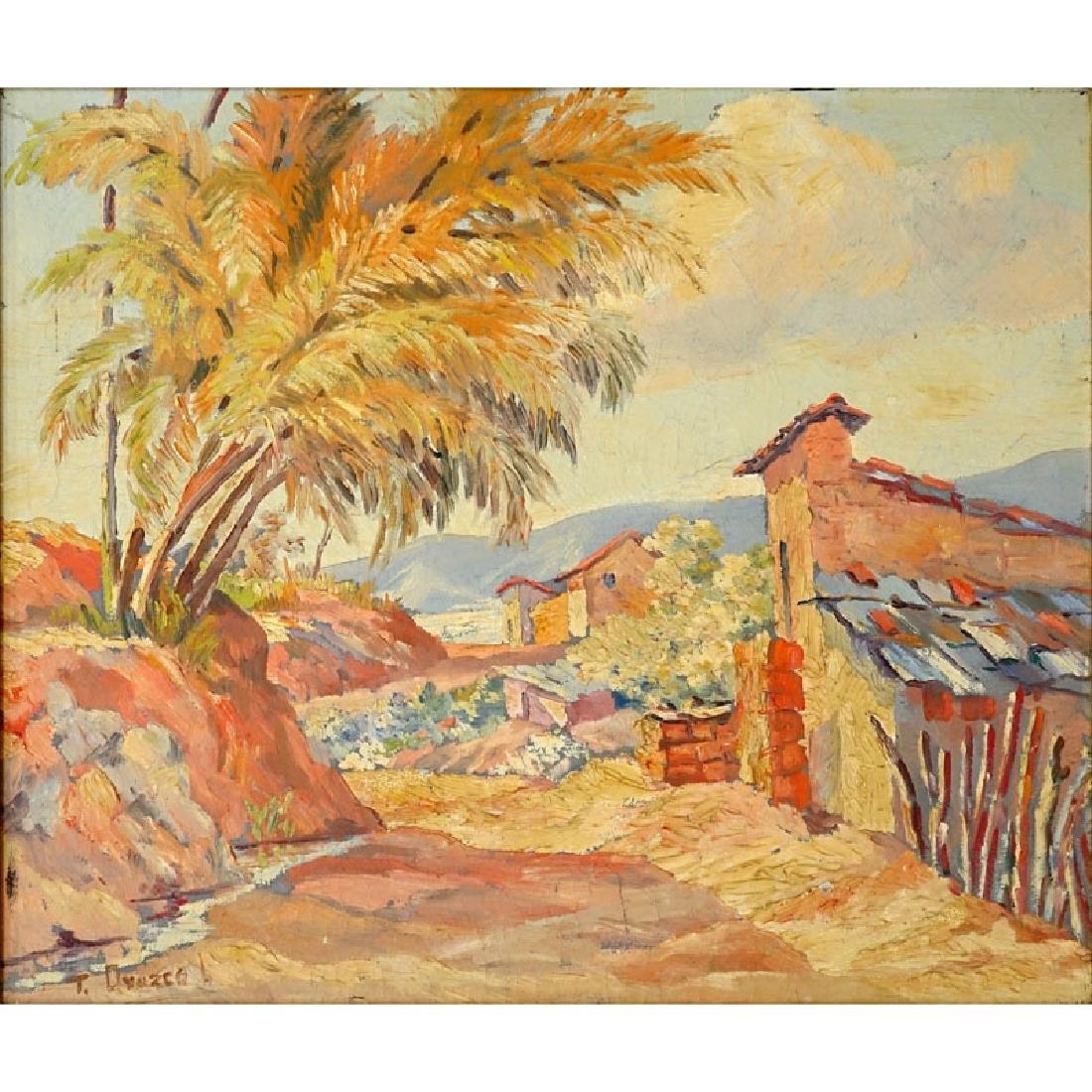 Trino Orozco, Venezuelan (born 1915) Oil on canvas