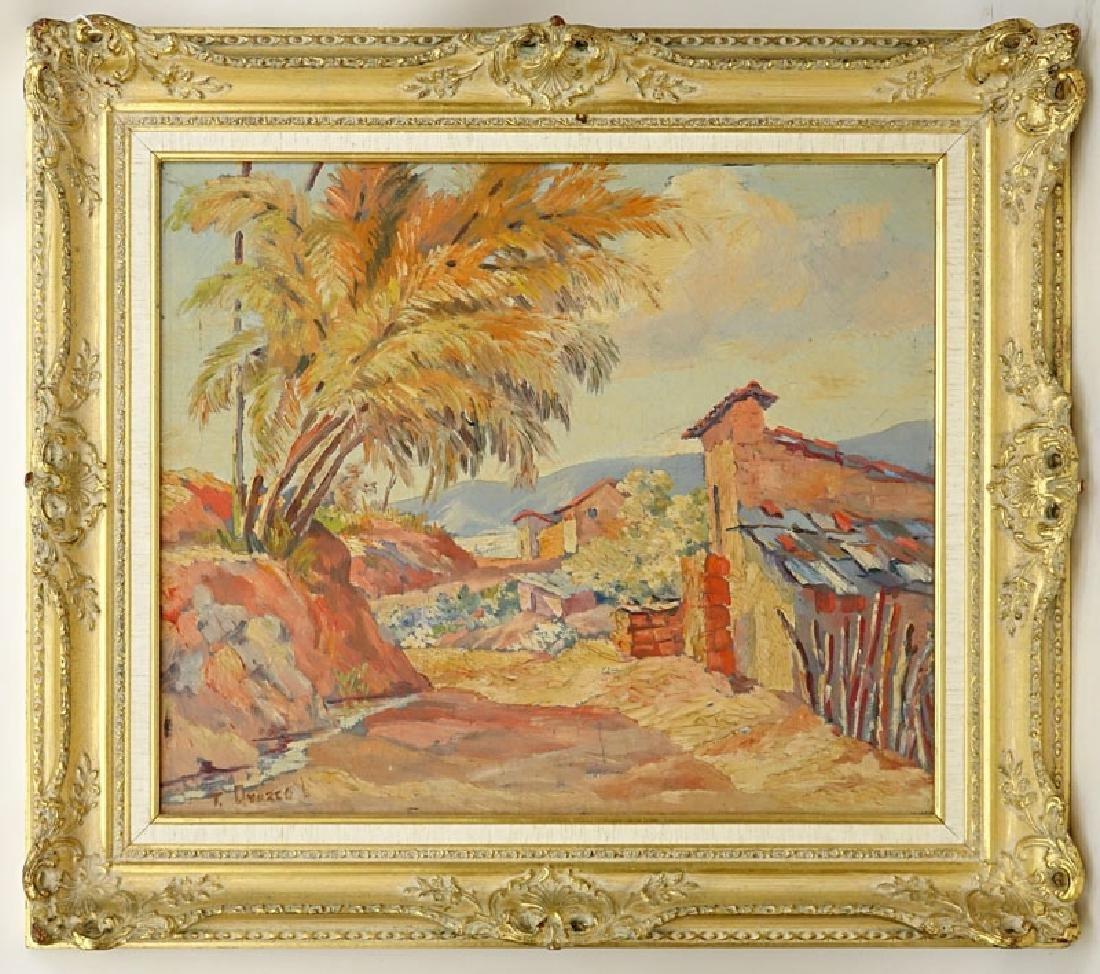 Trino Orozco, Venezuelan (born 1915) Oil on canvas - 2