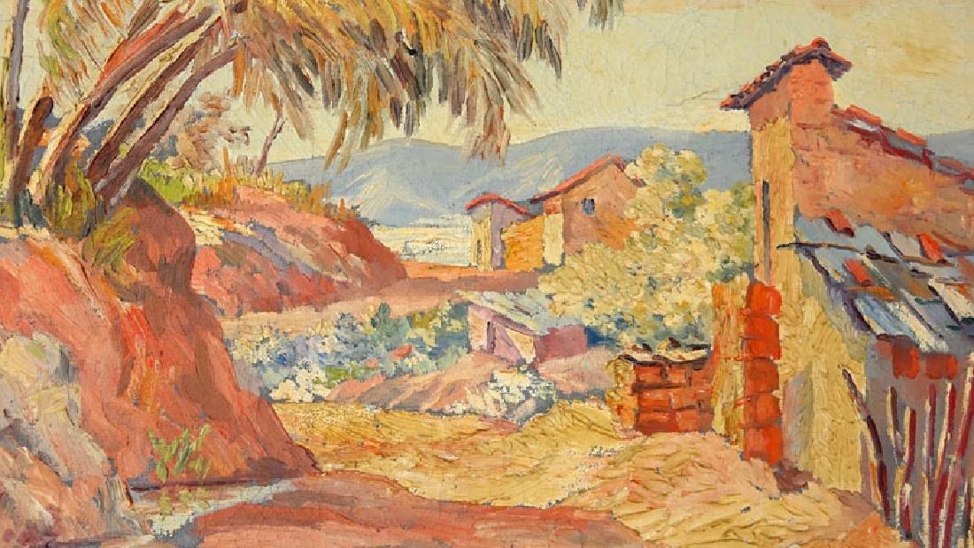 Trino Orozco, Venezuelan (born 1915) Oil on canvas - 4