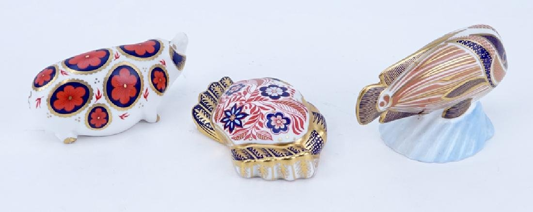 Collection of Three (3) Royal Crown Derby Old Imari - 2