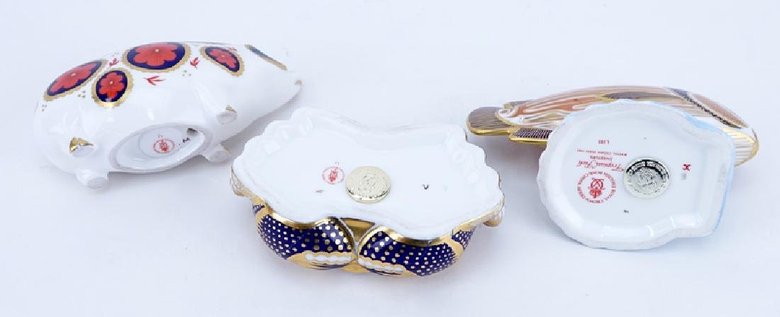 Collection of Three (3) Royal Crown Derby Old Imari - 3