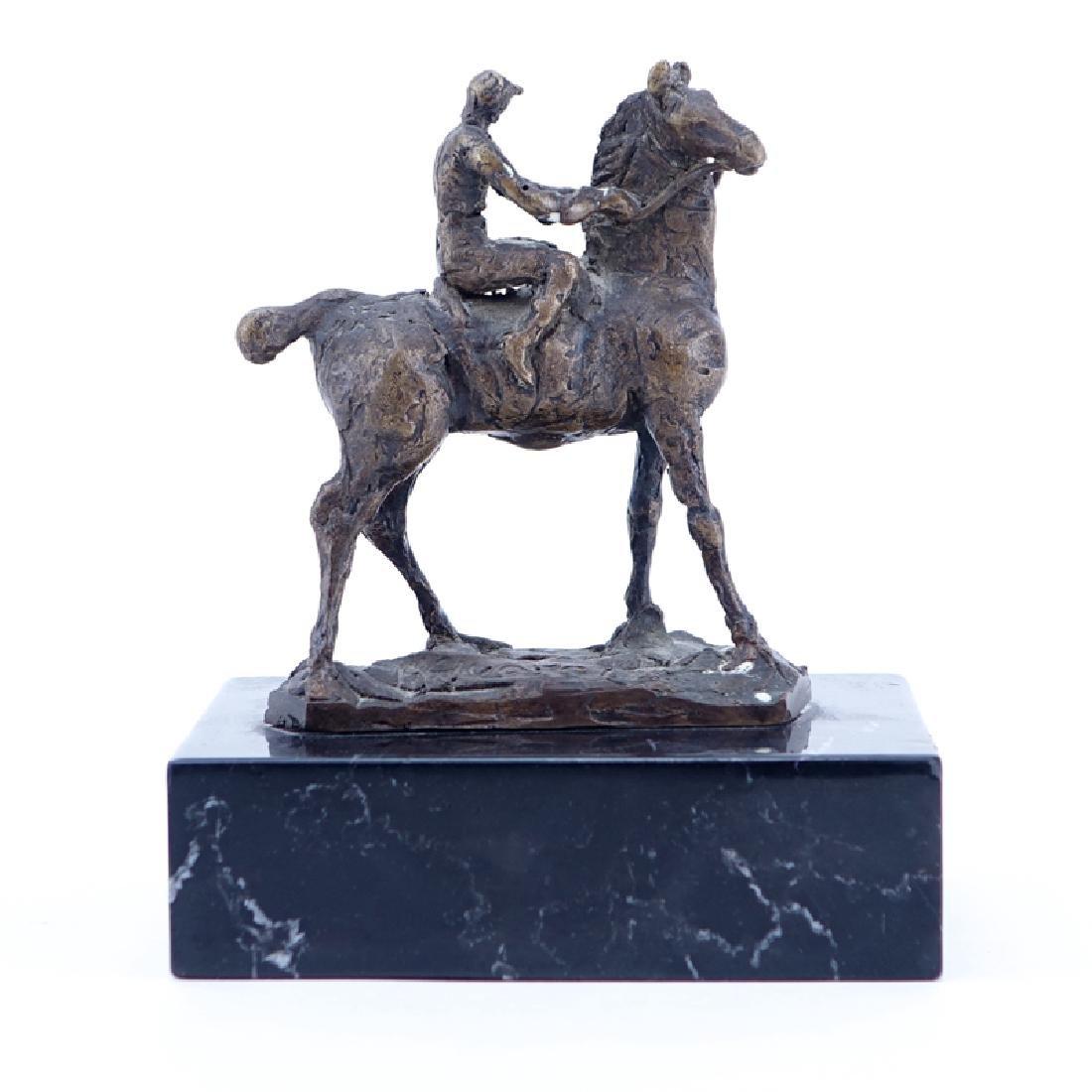Heriberto Juarez, Mexican (1932 - 2008) Bronze