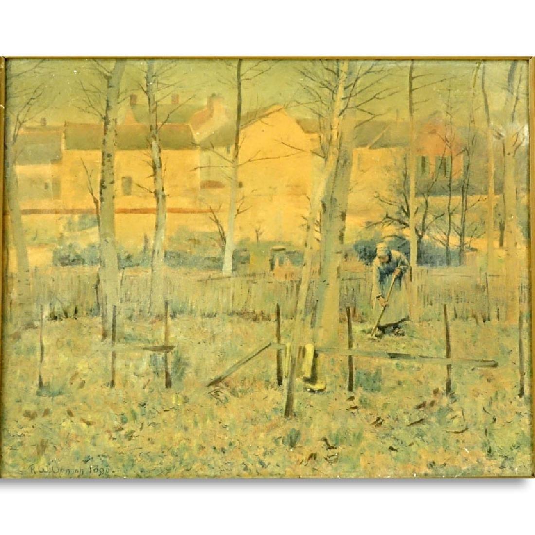 "Robert Vonnoh, American (1858 - 1933) ""French Peasants"
